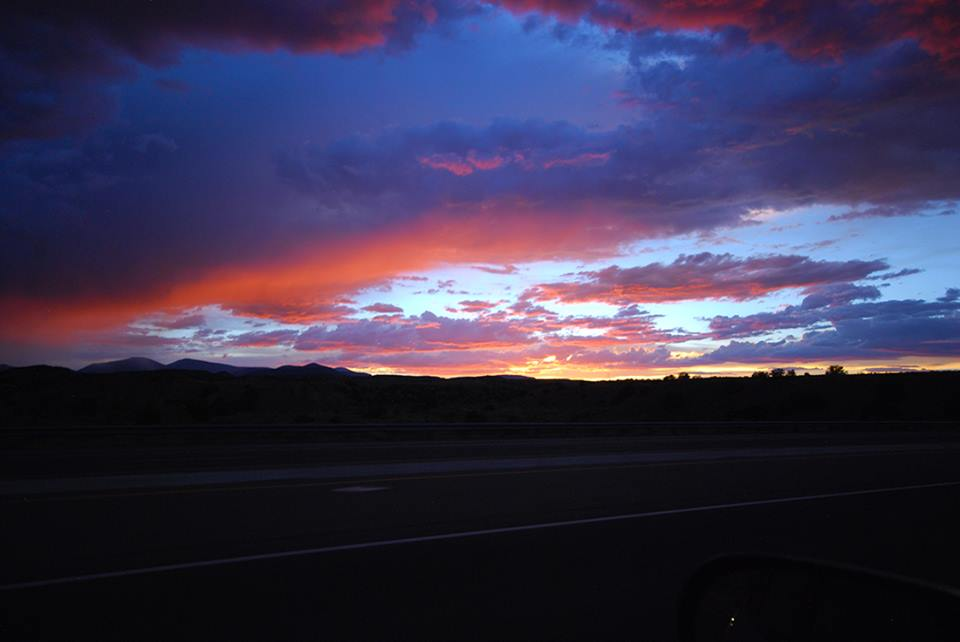 Northern New Mexico Sunset