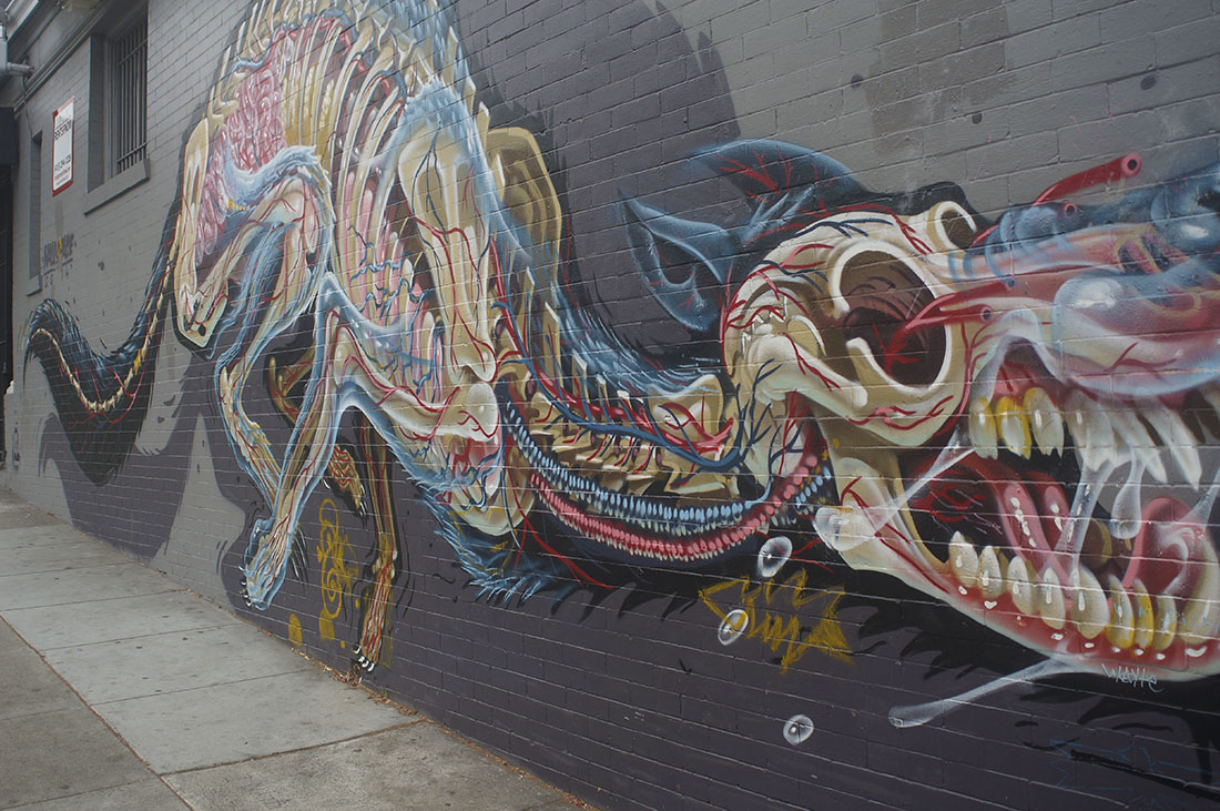 mural near Haight and Ashbury