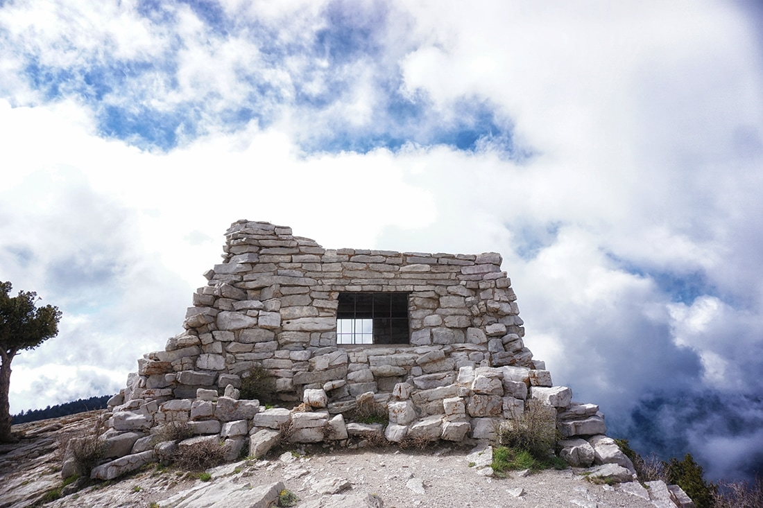 stone house at sandia crest