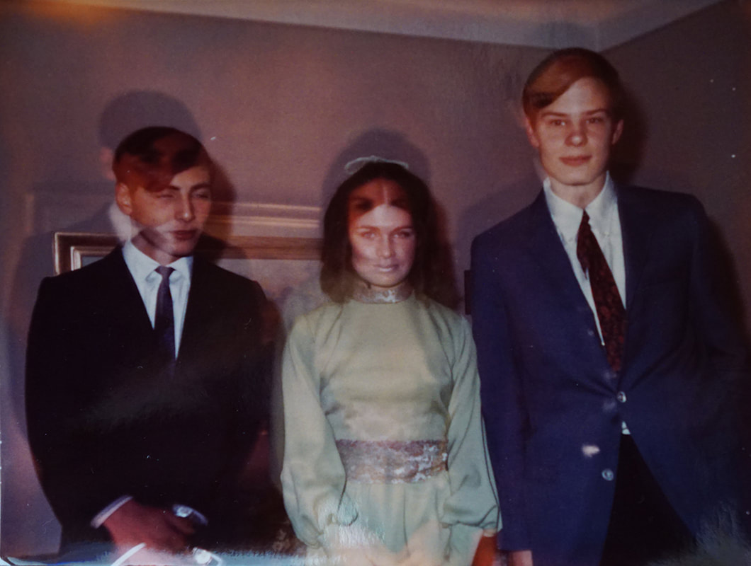 late 1960's prom photo