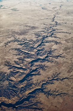 natural fractals as seen from the air