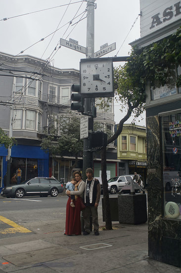 family portrait Haight and Ashbury