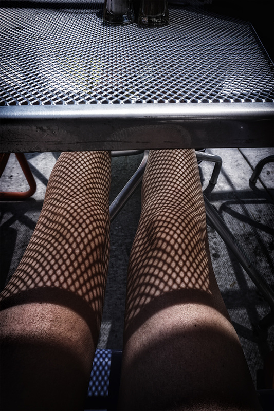 shadow fishnet stockings
